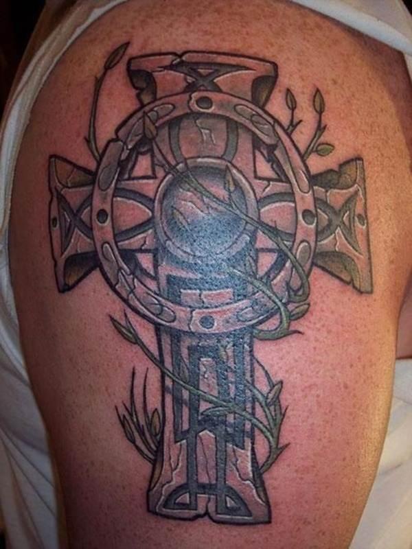 Cross Tattoos for Men (27)