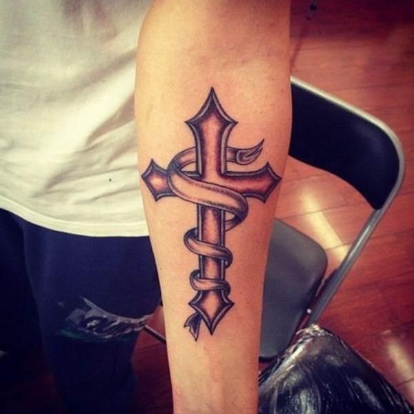 Cross Tattoos for Men (5)