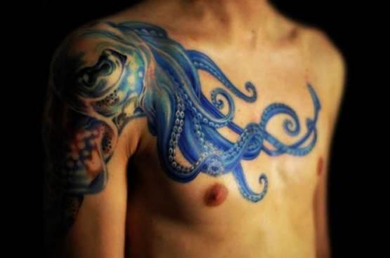 Octopus Tattoo for Men