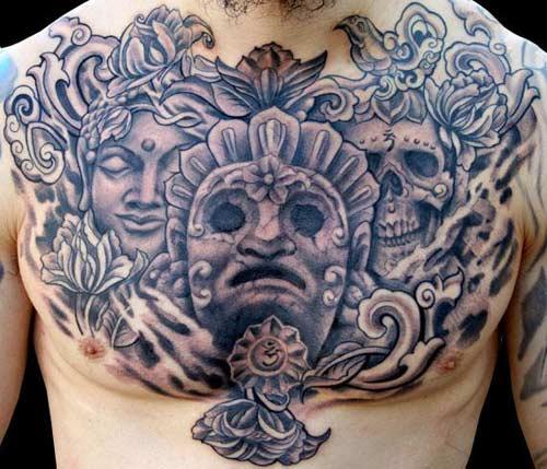 Buddhist Tattoo for Men