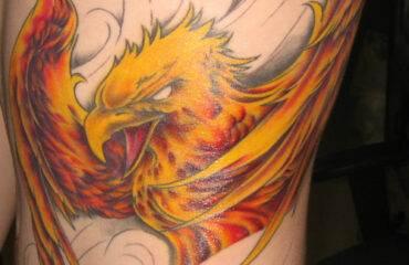 Cool Phoenix Tattoos for Men