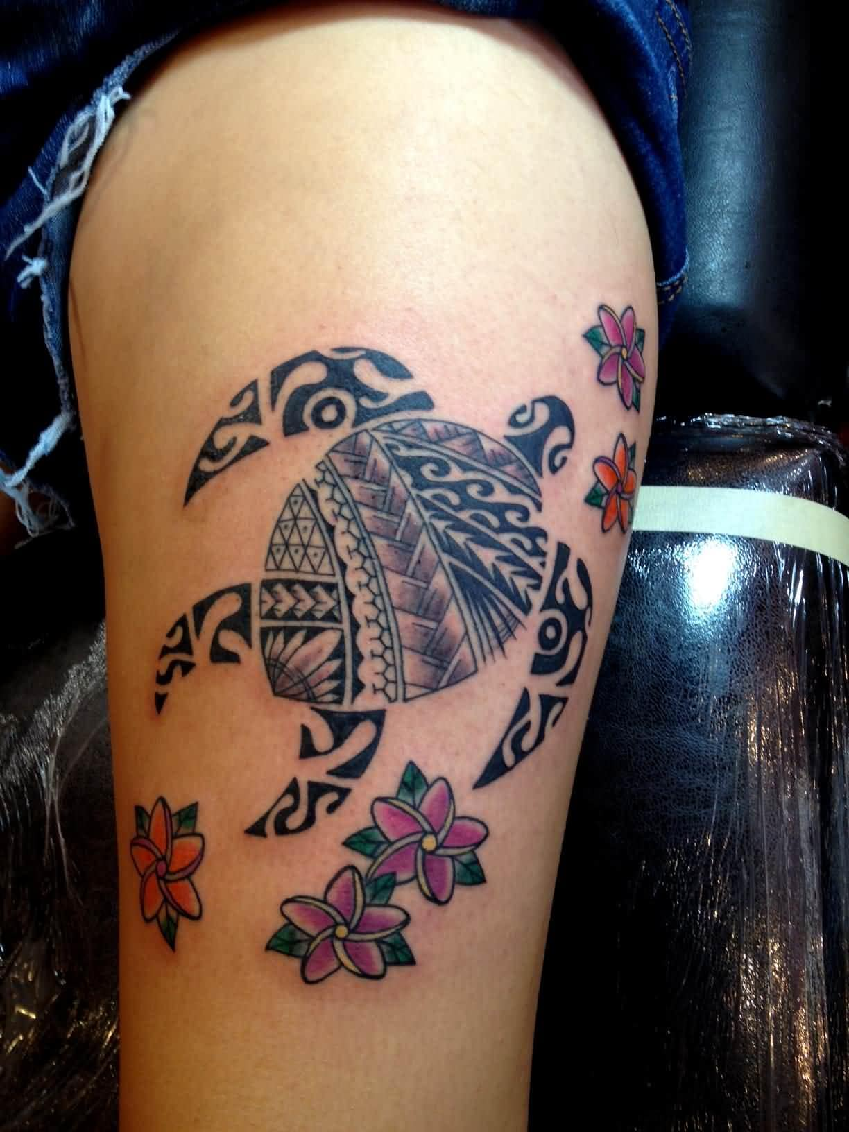Samoan Turtle Tattoo