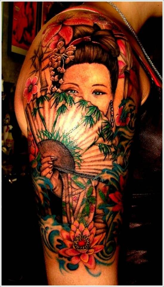 Geisha-Tattoo-Designs-2