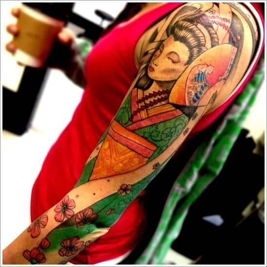 Geisha-Tattoo-Designs-27