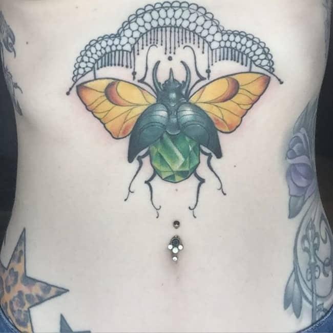 Stomach Tattoos (2)