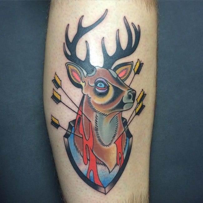 deer tattoos