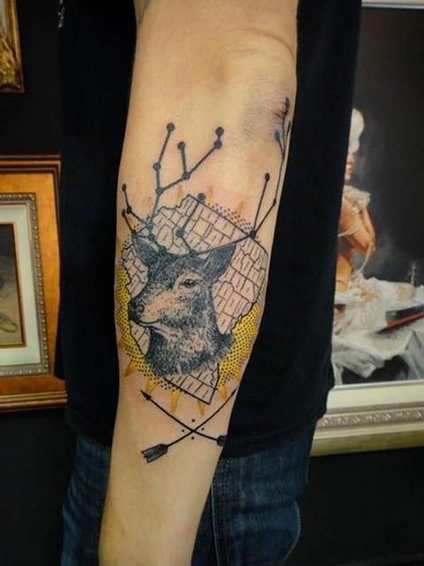 33-Deer-Tattoo
