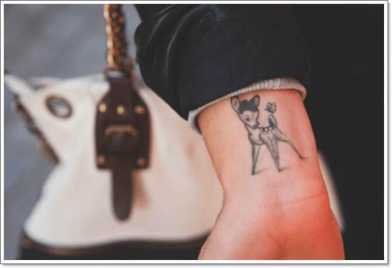 Lovely-Bambi-Tattoo-Design