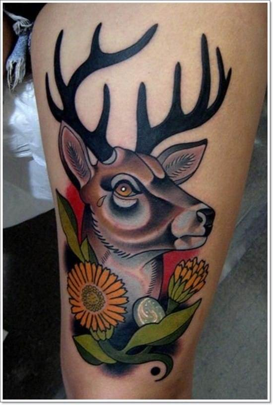 Deer-Tattoos-For-Men-And-Women-7
