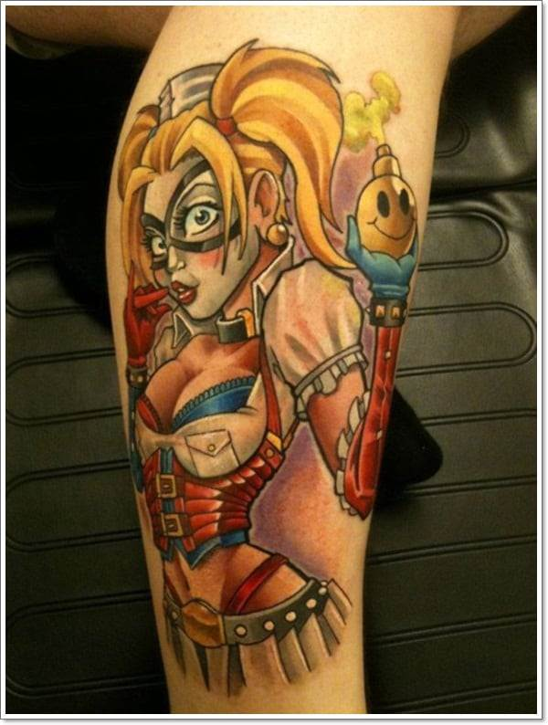 TOP 65 Pin Up Girl Tattoo Sexy Designs
