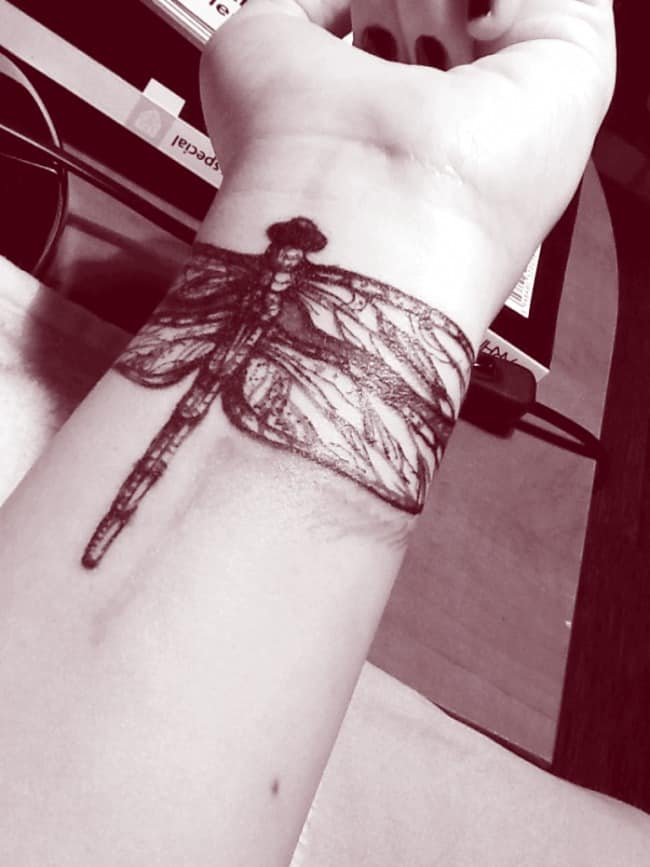 dragonfly tattoo (58)