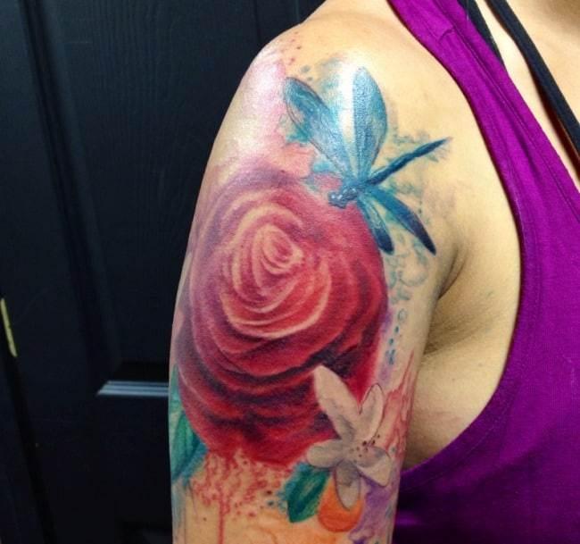 dragonfly tattoo (12)