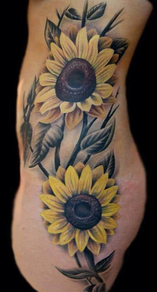 8-sunflower-tattoo