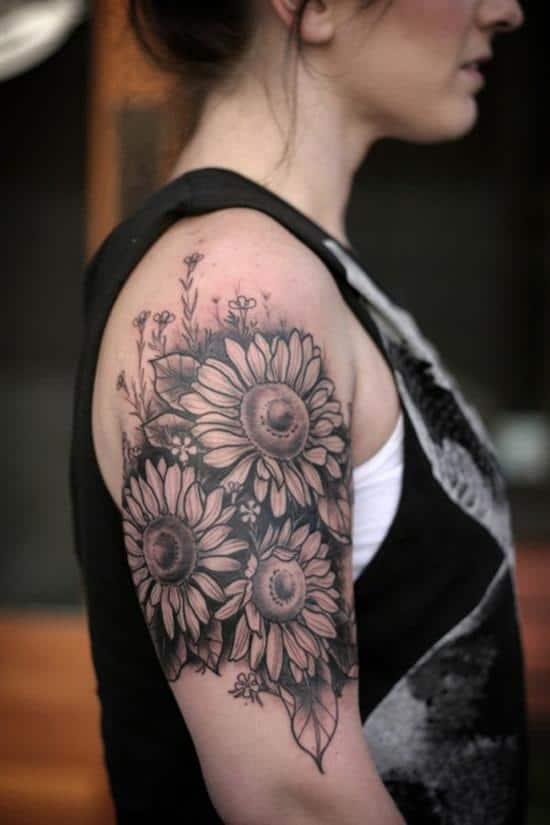 11-sunflower-tattoo