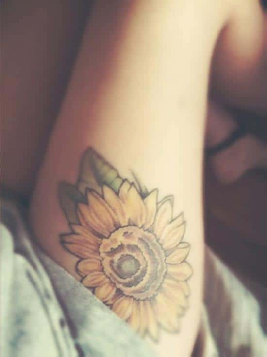 13-sunflower-tattoo