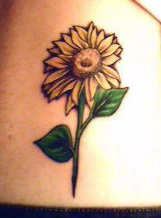 sunflower-tattoo-simple2
