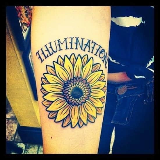 sunflower-tattoo-illumination