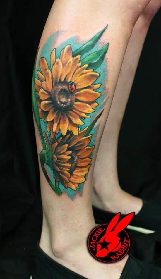22-sunflower-tattoo