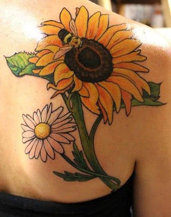 29-sunflower-tattoo