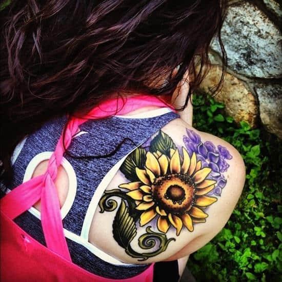 sunflower-tattoo-colored2