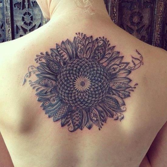 32-sunflower-tattoo-for-girl