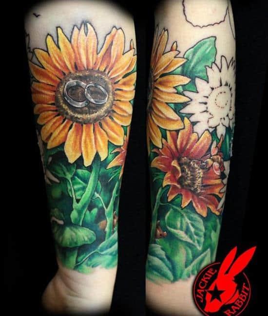 7-sunflower-tattoo
