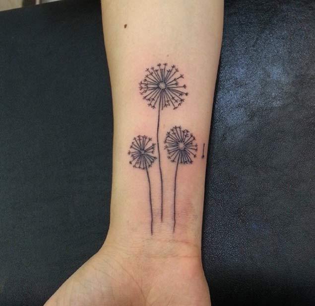 Dandelion Tattoo by Ankara