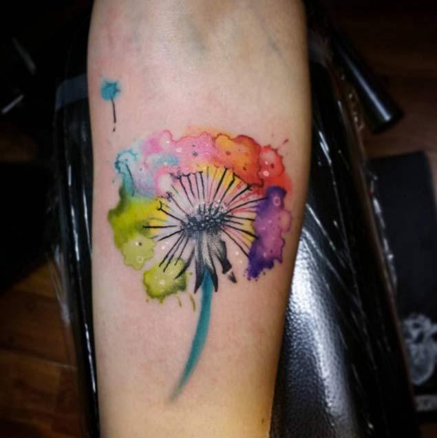 dandelion-tattoo