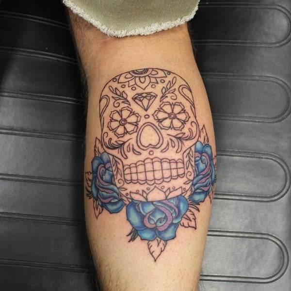 Sugar Skull Tattoo Designs And Ideas
