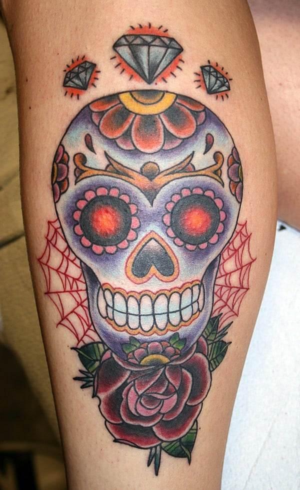 Sugar Skull Tattoos Designs