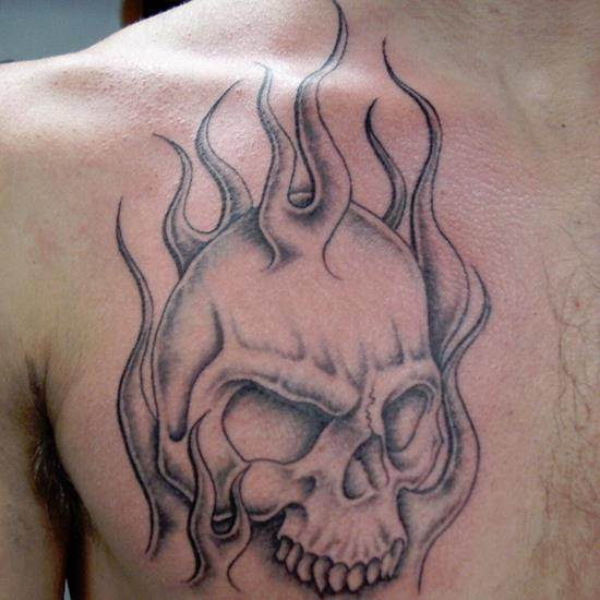 skull-in-flames