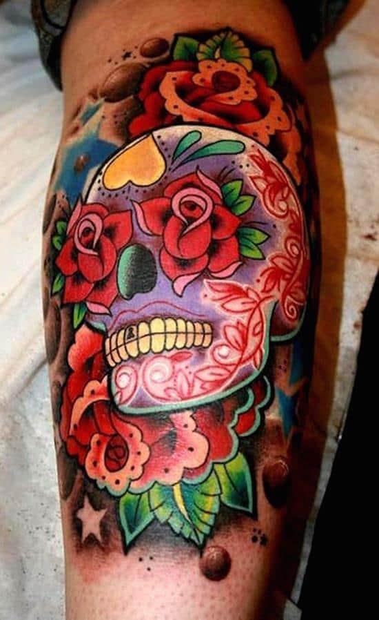 sugar-skull-tattoos-38