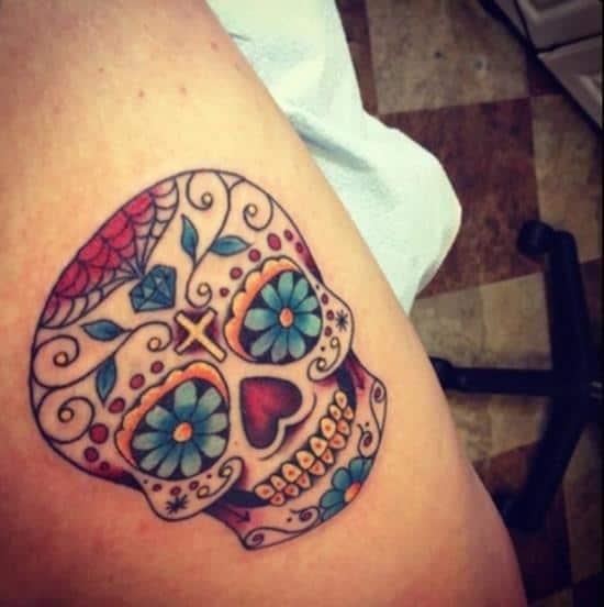 sugar-skull-tattoos-17