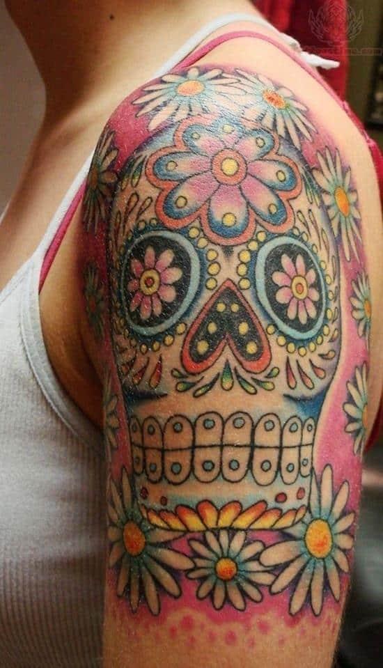 sugar-skull-tattoos-16