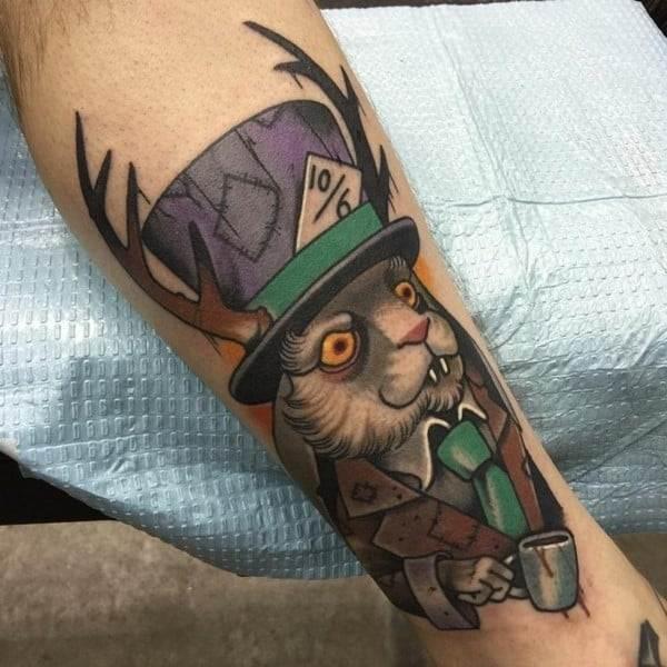 mad hatter tattoo