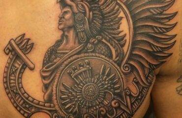Stunning Aztec Tattoo Designs