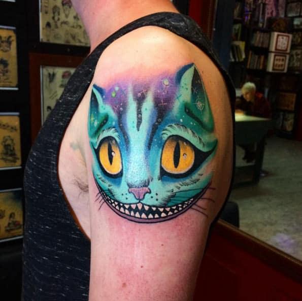 Cheshire Cat by Blayne Bius