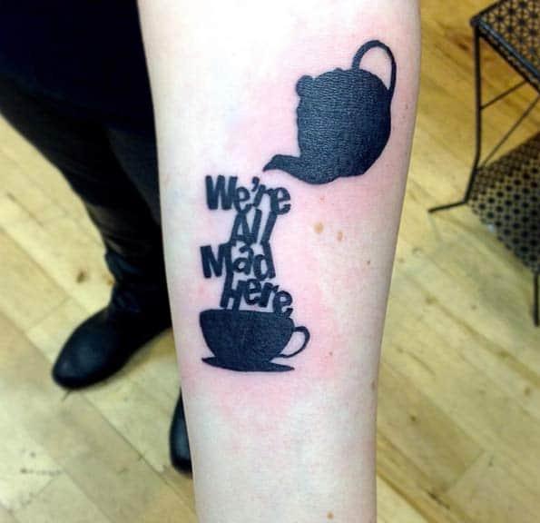 Alice in Wonderland Tattoo by East Van