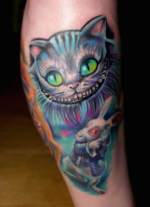 best-alice-in-wonderland-tattoo