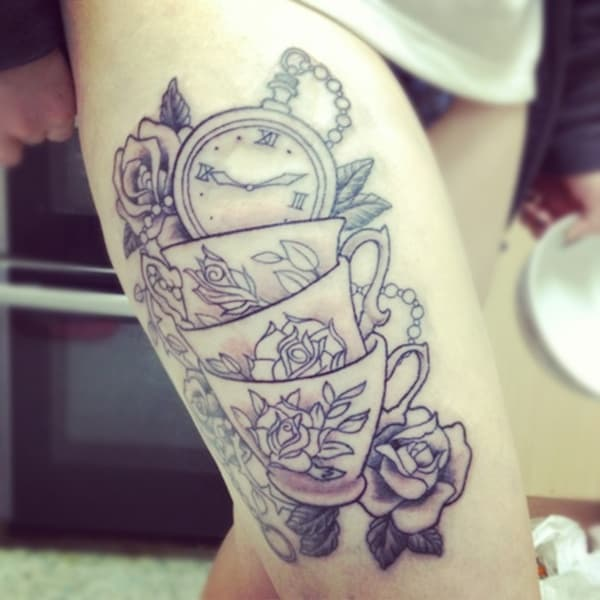 alice-in-wonderland-tattoo-teacup-BLACK-WHITE