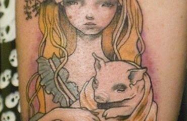 Charming Alice in Wonderland Tattoo Designs