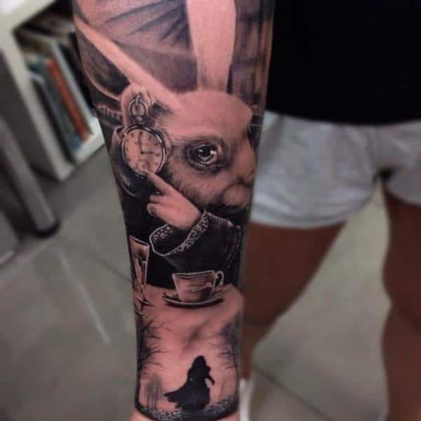 breathtaking-alice-in-wonderland-tattoo