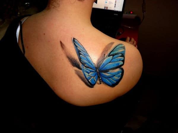 3D Tattoos Butterfly