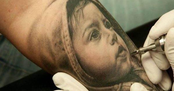 3D Realistic Tattoo