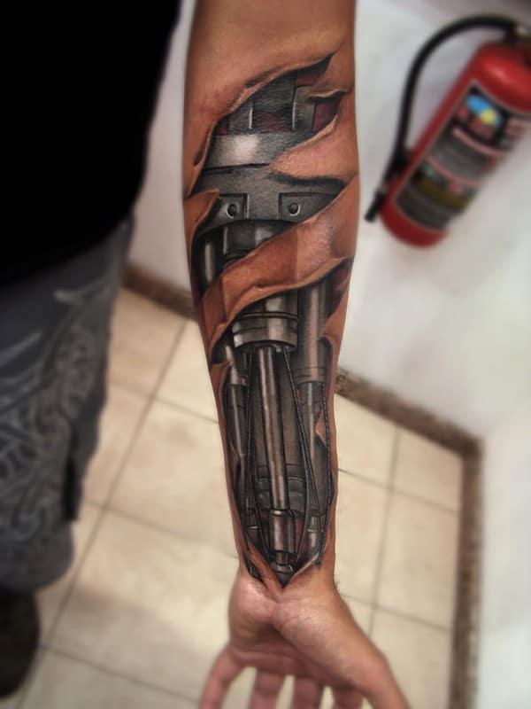Robotic 3D Tattoos