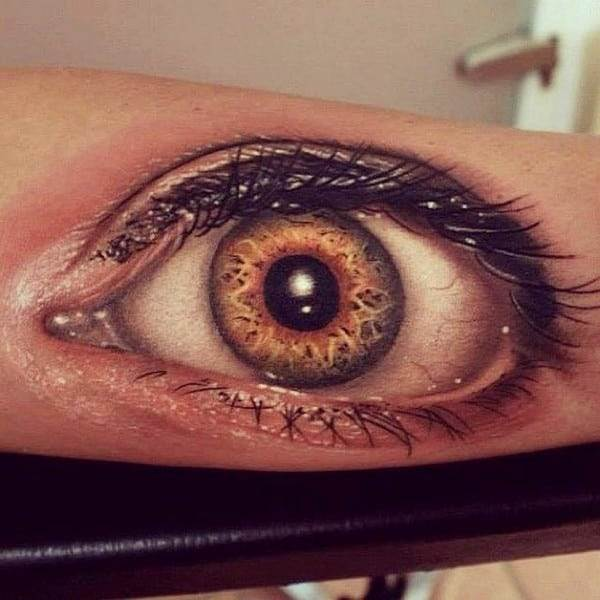 Big Eye 3D Tattoo