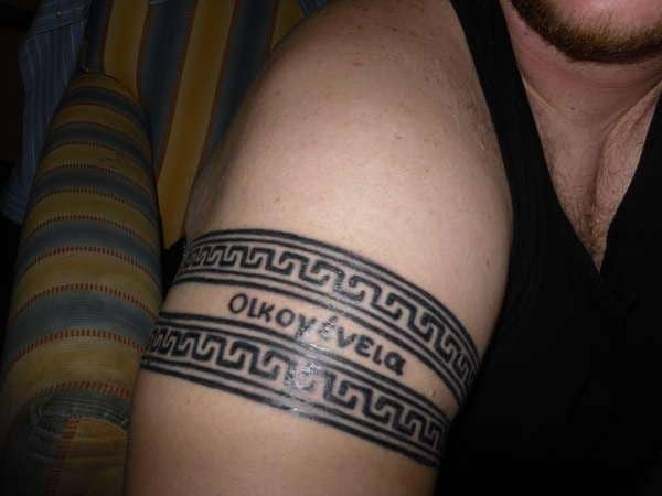 greek-armband-tattoo