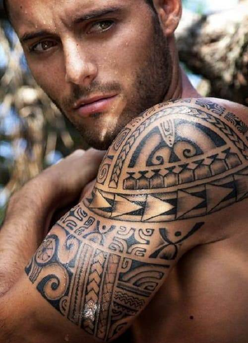 Spear Head Polynesian Tattoo