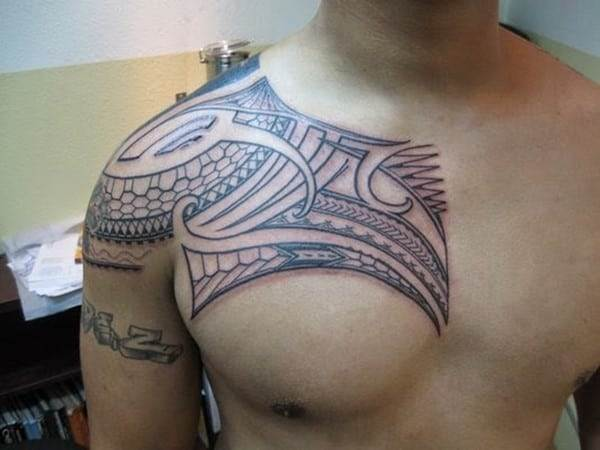 Polynesian tattoos 40