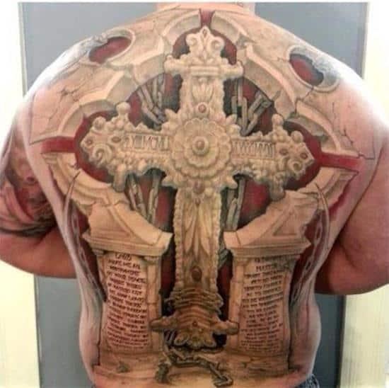 tattoo-3d-cross
